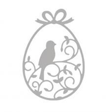 Troquel Pascua adornada 5,5x8,1 cm