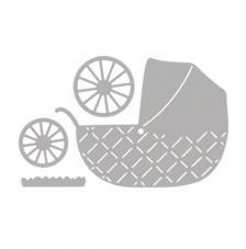Troquel Baby cochecito 7,2x7,9 cm