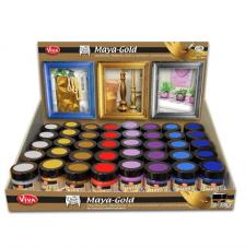 Expositor Maya Gold 8 colores x 6 ud. Viva Decor