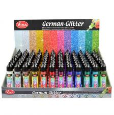 Expositor German Gliter 12 colores x 8 unitats