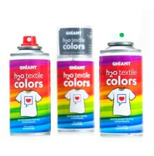 Pintura Téxtil en Spray H20 150 Ml. 25 colores