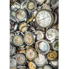 Papel Arroz Relojes Rotos 30x41 cm