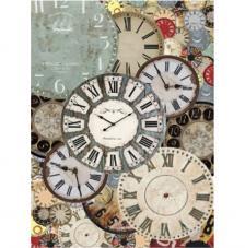 Papel Arroz Esferas Reloj 30x41 cm