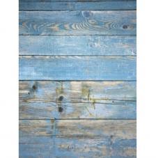 Papel Arroz Madera Azul 30x41 cm