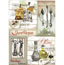 Papel Arroz Secret Recipes 30x41 cm