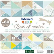 180 papeles 30,5 x 30,5 cm. Best of Winter