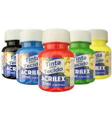 Pintura Textil MATE Acrilex 37 ml. 123 colores