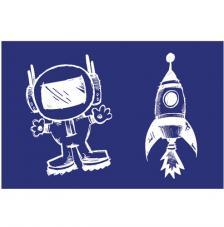 Stencil My Style Astronauta 14,8x21 cm