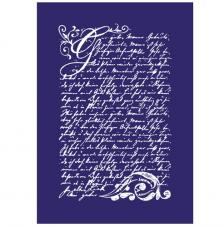 Stencil My Style Poesia Vintage 14,8x21 cm