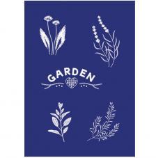 Stencil My Style Garden 14,8x21 cm