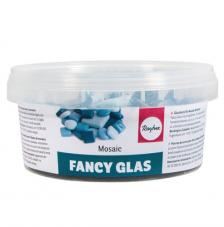 Teselas Fancy Glass Azules 1 y 2 cm 395 ut.