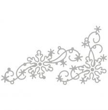 Troquel Garlanda Copitos Nieve