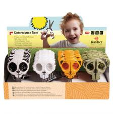 Expositor 36 tijeras infantiles. 4 motivos