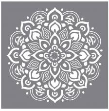 Stencil 30,5x30,5 cm. Mandala