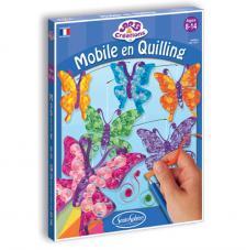 Ac móvil mariposas en quilling