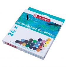 Set 24 barras pastel Oleo Soluble en agua Art Creation