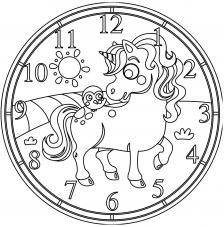 RELOJ Unicornio Ø 30 cm