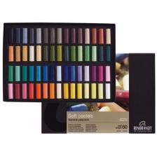 Set 60 medias barras pastel Rembrandt 300C60.5