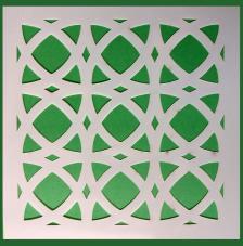 Stencil Mosaico 5 15x15 cm
