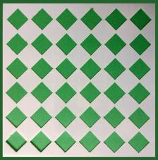 Stencil Mosaico 8 15x15 cm