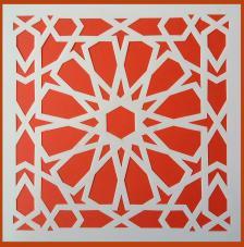 Stencil Fondo 2 20x20 cm