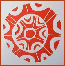 Stencil Fondo 4 20x20 cm