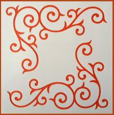 Stencil Esquina 13 20x20 cm