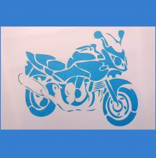 Stencil Moto 20x30 cm