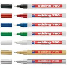 Rotulador Edding 780. Gama 8 colores