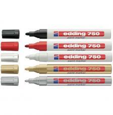 Rotulador Edding 750 tinta opaca. Gama 14 colores