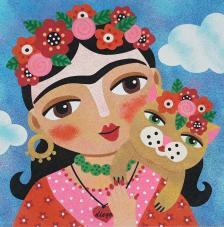 Frida Kahlo 2. 2 medidas disponibles