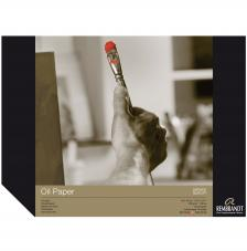Bloc papel para Oleo Rembrandt 10 hojas 300g/m2. 30x40 cm