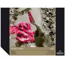 Bloc papel para Acrílico Rembrandt 10 hojas 400 g/m2. 24x32 cm