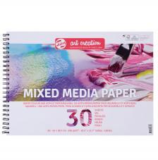 Bloc Técnicas mixtas Art Creation 30 hojas 250 g/m2. A3