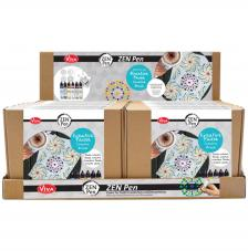 Expositor 16 Kits Zen Pen Viva Decor