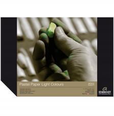 Bloc papel para Pastel Rembrandt 30 hojas 160 g/m2. A4 Colores Claros