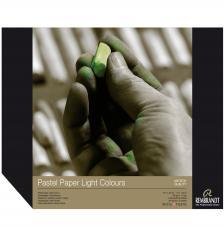 Bloc papel para Pastel Rembrandt 30 hojas 160 g/m2. A3 Colores Claros