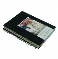 Cuaderno boceto tapa dura espiral Art Creation 80 hojas 110 g/m2. 14x21 cm