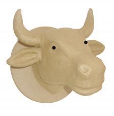 Trofeo de vaca 23x21x26 cm