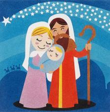 Belen Estrella Navidad 30x30 cm