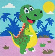 Dinosauiro Velociraptor. 3 medidas disponibles