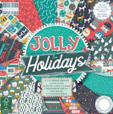 64 papeles 15,2 x 15,2 cm. Jolly Holidays