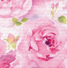 20 servilletas. Rosa Delicada rosa