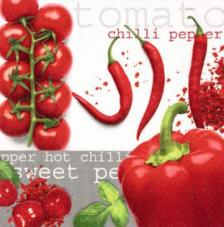 20 Servilletas. Tomate & Chilli & Pepper