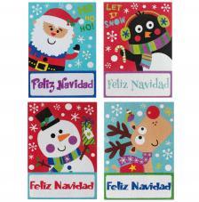 Blister 4 postales navidad
