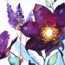 20 servilletas. Flor del Ciruelo