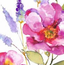 20 servilletas. Rosa Grande
