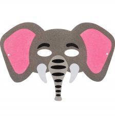 Máscara Carnaval Elefante 29x20 cm