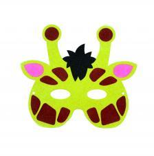 Máscara Carnaval Girafa 22x20 cm