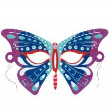 Máscara Carnaval Fantasy Mariposa